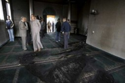 Zionist Settlers Attempt to Burn Mosque