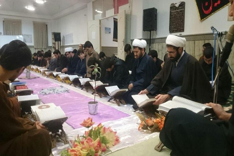 برگزاری مستمر کلاسهای تفسیر قرآن در حوزه علمیه خرمدره